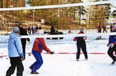 Турнир по волейболу на снегу «Snow Volley Christmas-2012»