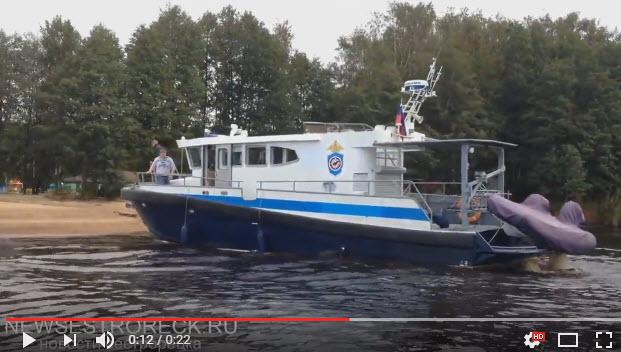 В Сестрорецке высадился морской десант
