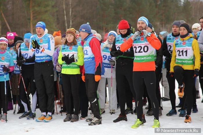 В Сестрорецке прошли легкоатлетические соревнования «Снегоход» и «Снегобег»