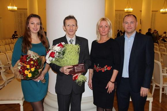 Александр Плотников, тренер СДЮСШОР, награжден премией Правительства города