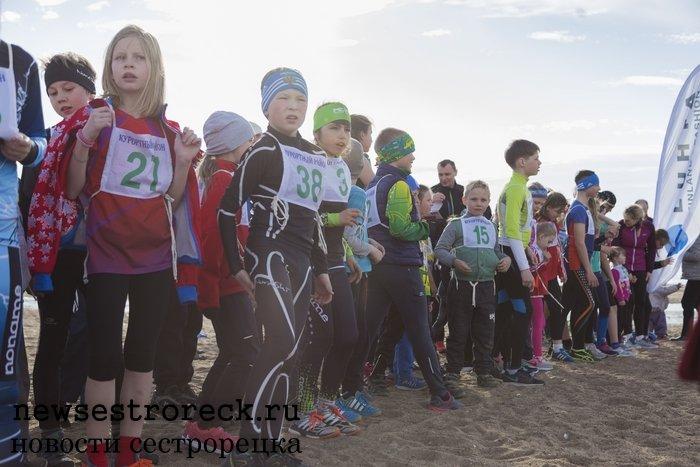 Прошел второй этап соревнований по бегу «Песчаные Дюны - 2017»