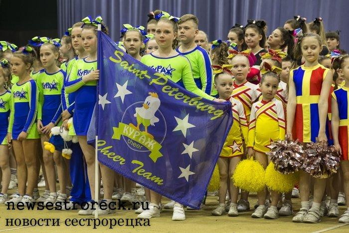 В Сестрорецке прошли соревнования по черлидингу «Cheer Open - 2017»