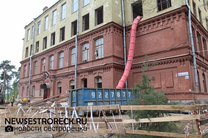 72 миллиона украли на реконструкции школы №434 в Сестрорецке