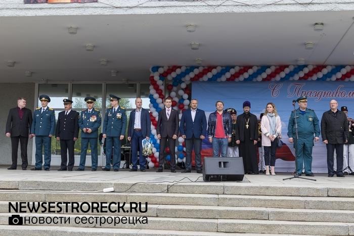 В Сестрорецке отметили 368-летие пожарной охраны России
