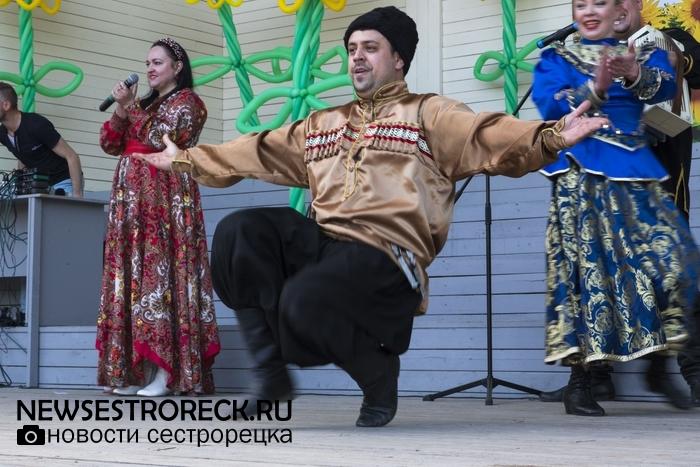 В Сестрорецке прошел праздник казачества «На службе Отечеству»