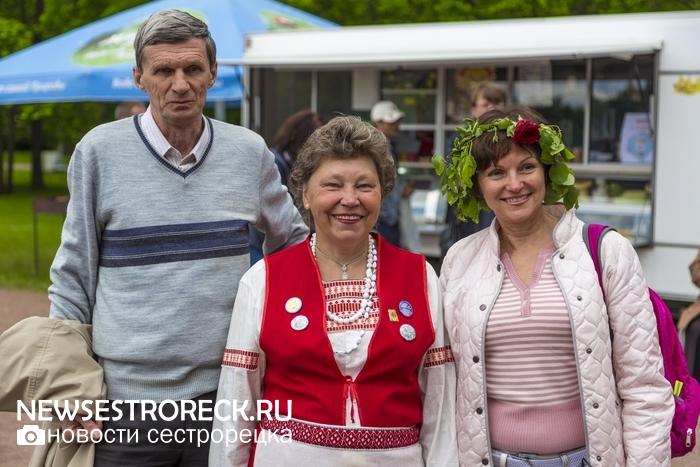 В Сестрорецке отметили праздник Юханнус - 2017