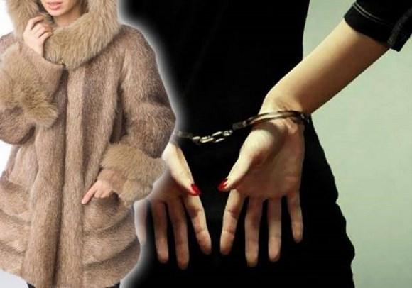 Полицейские раскрыли кражу норковой шубы
