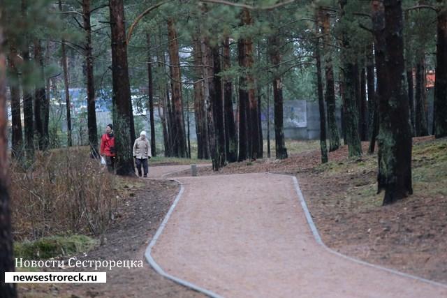 Курортный район представил девять объектов на смотр-конкурс