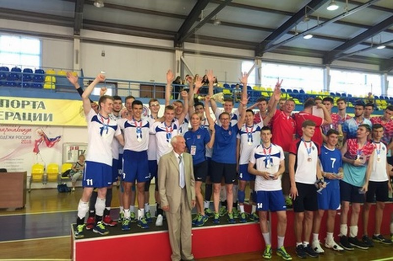 Волейболисты из Сестрорецка стали серебряными призерами молодежной Спартакиады