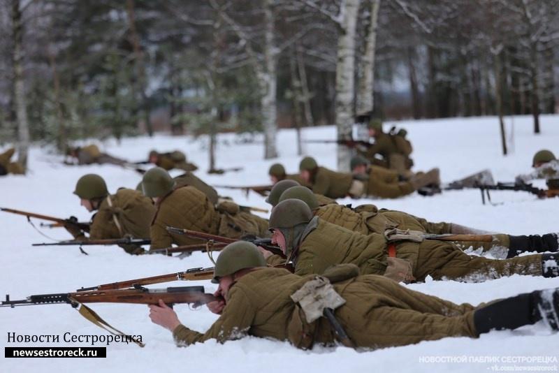 15 декабря состоится военно-историческая реконструкция, посвященная боям 1939 года на Карельском перешейке